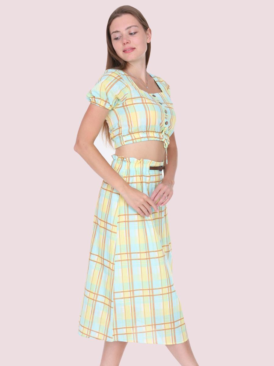 Ekose Takım Elbise